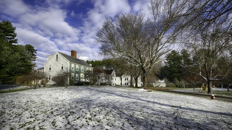 Main House winter